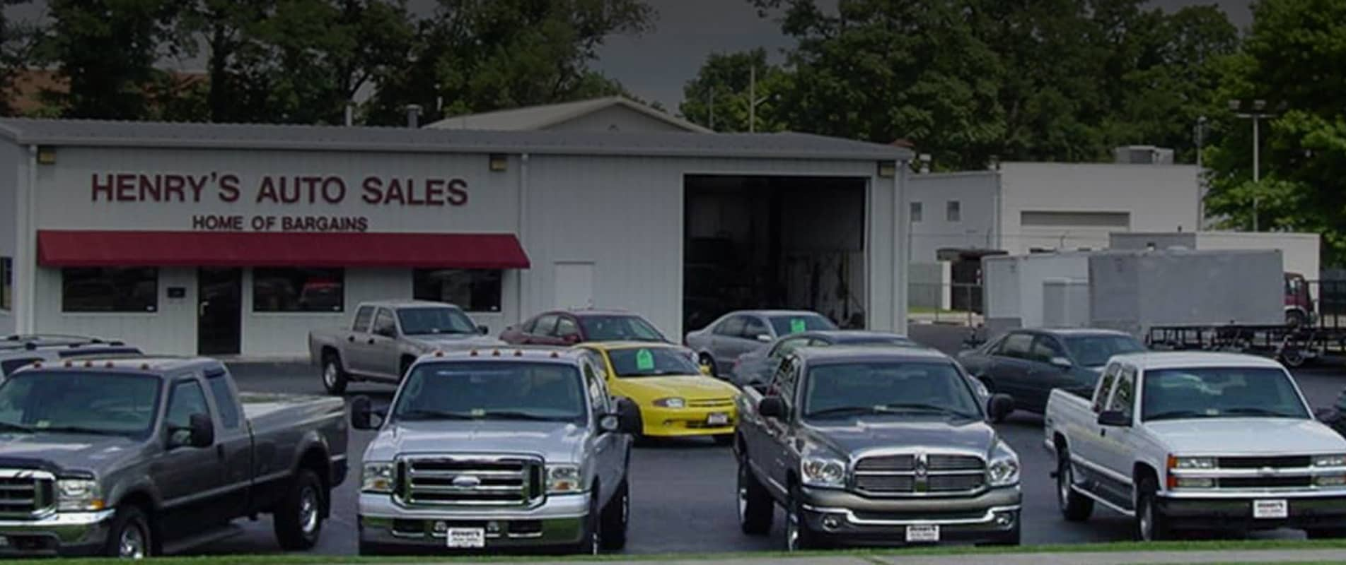 Henrys Auto and Trailer Sales Roanoke VA, Home of Bargains!